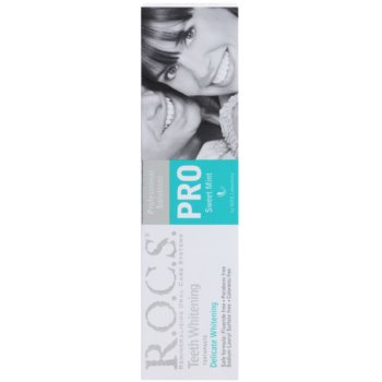 R.O.C.S. PRO Sweet Mint нежна избелваща паста за зъби 2