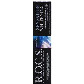 R.O.C.S. Sensation Whitening belilna zobna pasta proti madežem na zobni sklenini 2