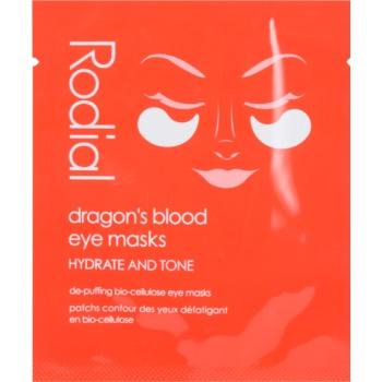 Rodial Dragon's Blood Eye Masks Masca pentru ochi pentru reducerea cearcanelor poza noua