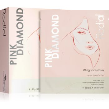 Rodial Pink Diamond masca pentru lifting imagine