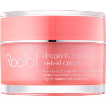 rodial dragon's blood crema de față cu acid hialuronic ten uscat