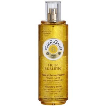 Fotografie Roger & Gallet Huile Sublime vyživující suchý olej na tělo a vlasy 100 ml