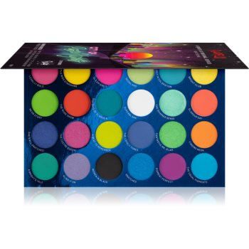 Rude Cosmetics City of Neon Lights paleta farduri de ochi poza noua