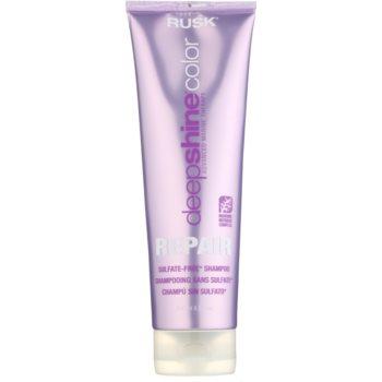 Rusk Deep Shine Color Repair čisticí a vyživující šampon pro zvýraznění barvy vlasů