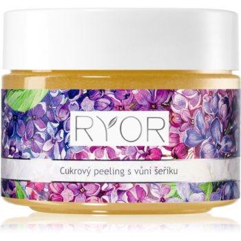 RYOR Lilac Care exfoliant din zhar pentru netezire pentru corp poza