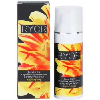 RYOR Argan Oil dnevna krema s hialuronsko kislino 2