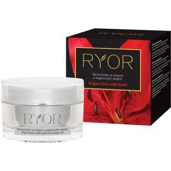 RYOR Argan Care with Gold crema de zi cu ulei de aur si argan