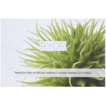 RYOR Depilation and Shaving depilacijska folija za telo za enostavno in hitro hladno depilacijo