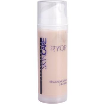 RYOR Skin Care masca de sunatoare si rutina impotriva rosetii si a vizibilitatii venelor