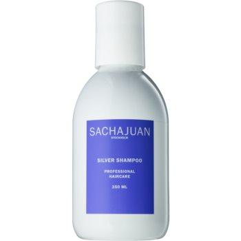 Sachajuan Cleanse and Care Silver șampon pentru neutralizarea tonurilor de galben