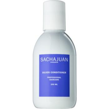 Sachajuan Cleanse and Care Silver balsam hidratant de neutralizare tonuri de galben