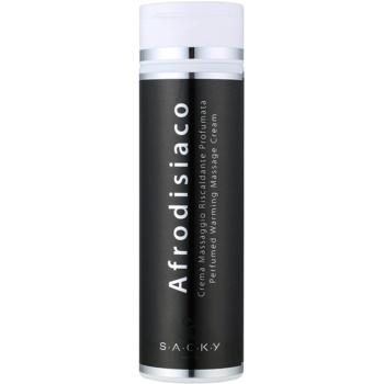 S.A.C.K.Y. Afrodisiaco Cremă parfumată pentru masaj cu efect de încălzire unisex 200 ml