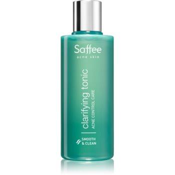Saffee Acne Skin tonic pentru curatare pentru ten acneic poza noua