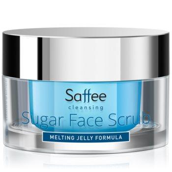 Saffee Cleansing Melting Jelly Scrub exfoliant din zahăr pentru față
