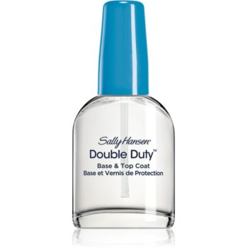 Sally Hansen Double Duty lac de unghii de baza si superioara imagine produs