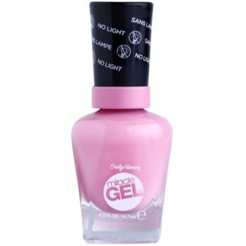 Sally Hansen Miracle Gel™ gel de unghii fara utilizarea UV sau lampa LED culoare 170 Pink Cadilacquer 14,7 ml