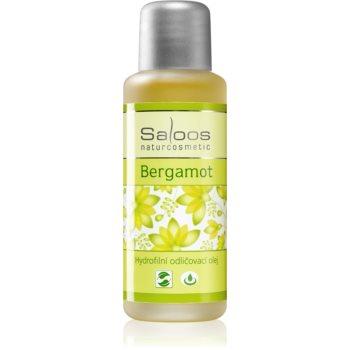 Saloos Make-up Removal Oil ulei demachiant din bergamotă poza noua