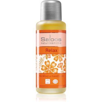 Saloos Bio Body and Massage Oils ulei de corp pentru masaj Relax poza noua