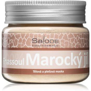 Saloos Maroccan Clay masca pentru fata si corp poza noua