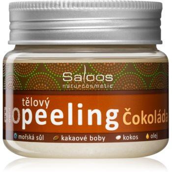Saloos Bio Peeling exfoliant corporal cu ciocolată poza noua
