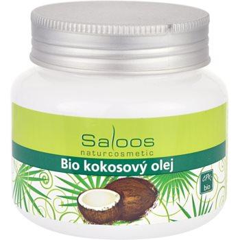 Fotografie Saloos Bio Coconut Oil kokosový olej pro suchou a citlivou pokožku 250 ml
