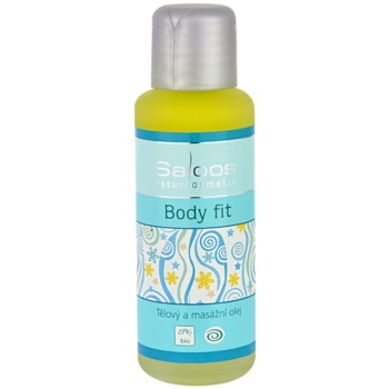 Saloos Bio Body and Massage Oils ulei de corp pentru masaj Body Fit