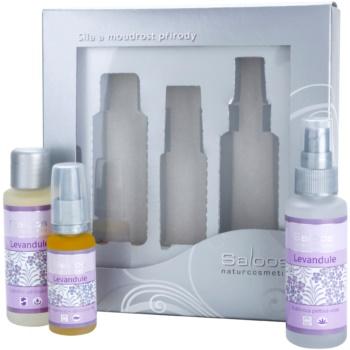 Saloos Face Care Set set cosmetice Lavender II. 3