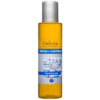 Saloos Shower Oil ulei de duș pentru copii cu extract de gălbenele