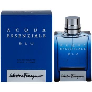 Salvatore Ferragamo Acqua Essenziale Blu eau de toilette pentru barbati 50 ml