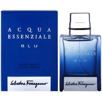 Salvatore Ferragamo Acqua Essenziale Blu Eau de Toilette pentru barbati 30 ml