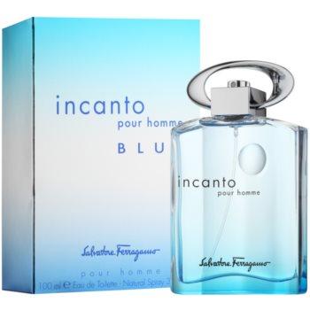 Salvatore Ferragamo Incanto Blue Eau de Toilette para homens 1