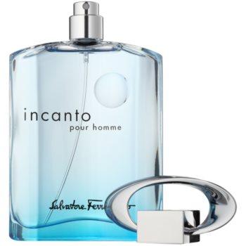 Salvatore Ferragamo Incanto Blue Eau de Toilette für Herren 3