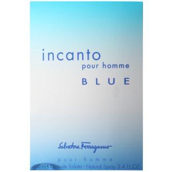 Salvatore Ferragamo Incanto Blue Eau de Toilette para homens 4