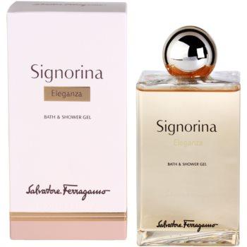 Salvatore Ferragamo Signorina Eleganza Duschgel für Damen