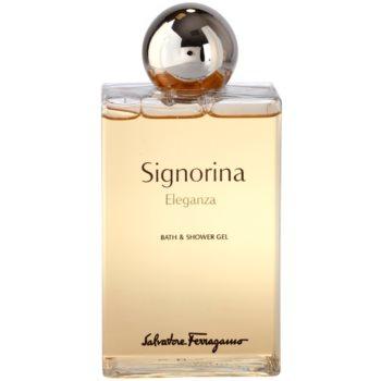 Salvatore Ferragamo Signorina Eleganza gel de dus pentru femei 200 ml