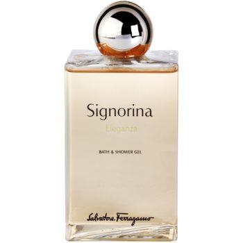 Salvatore Ferragamo Signorina Eleganza Duschgel für Damen 2