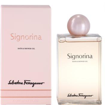 Salvatore Ferragamo Signorina Duschgel für Damen