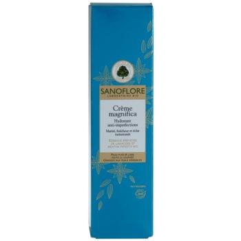 Sanoflore Magnifica creme hidratante para pele com imperfeições 3