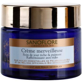 Sanoflore Merveilleuse učvrstitvena in hranilna krema proti gubam