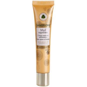 Sanoflore Miel Supreme Visage подхранващ крем за освежаване и изглаждане на кожата