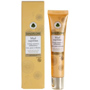 Sanoflore Miel Supreme Visage подхранващ крем за освежаване и изглаждане на кожата 1
