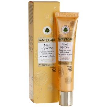 Sanoflore Miel Supreme Visage подхранващ крем за освежаване и изглаждане на кожата 2