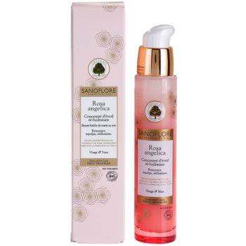 Sanoflore Rosa Angelica озаряващ хидратиращ серум за лице и очи 1