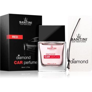 SANTINI Cosmetic Diamond Red parfum pentru masina