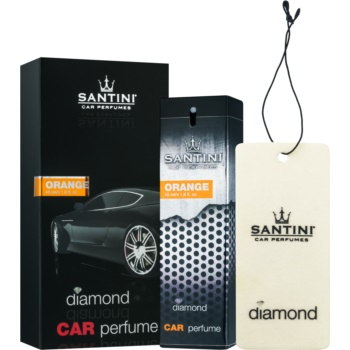 SANTINI Cosmetic Diamond Orange parfum pentru masina