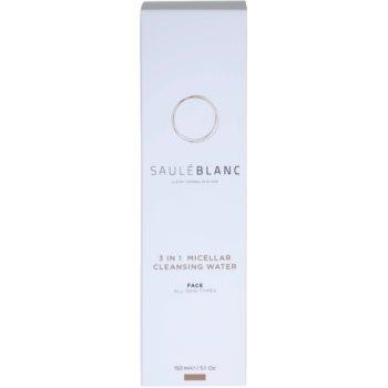 Saulé Blanc Face Care micelarna čistilna voda 3v1 3