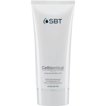 SBT Celldentical gel de curatare pentru ten gras
