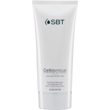 SBT Celldentical gel de curatare pentru ten gras