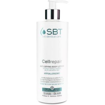 Fotografie SBT Cellrepair hypoalergenní tělové mléko pro suchou a citlivou pokožku 400 ml