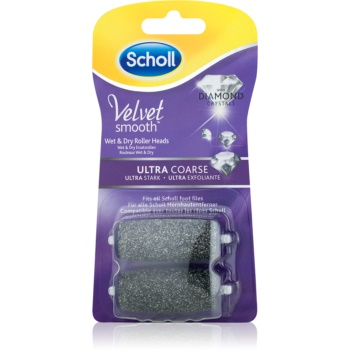 Scholl Velvet Smooth cap de schimb pentru pila electrică de călcâie, ultra abrazivă